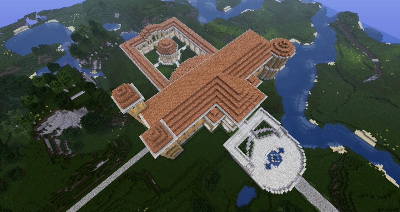 Mansion  Spawn Minecraft Project