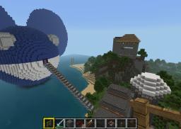 deadmause head [blue] Minecraft Map & Project