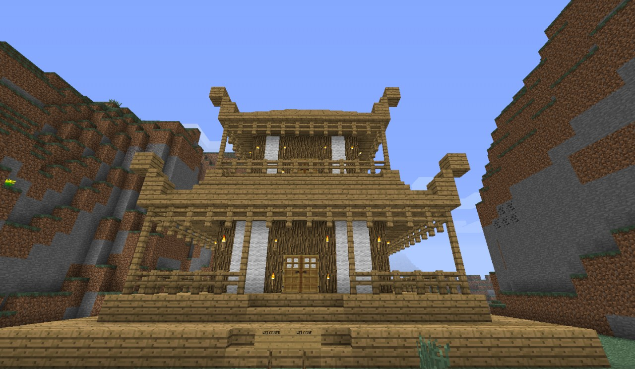 japanese house minecraft project