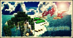 Azure Ocean Survival: Lost at Sea Minecraft Map & Project
