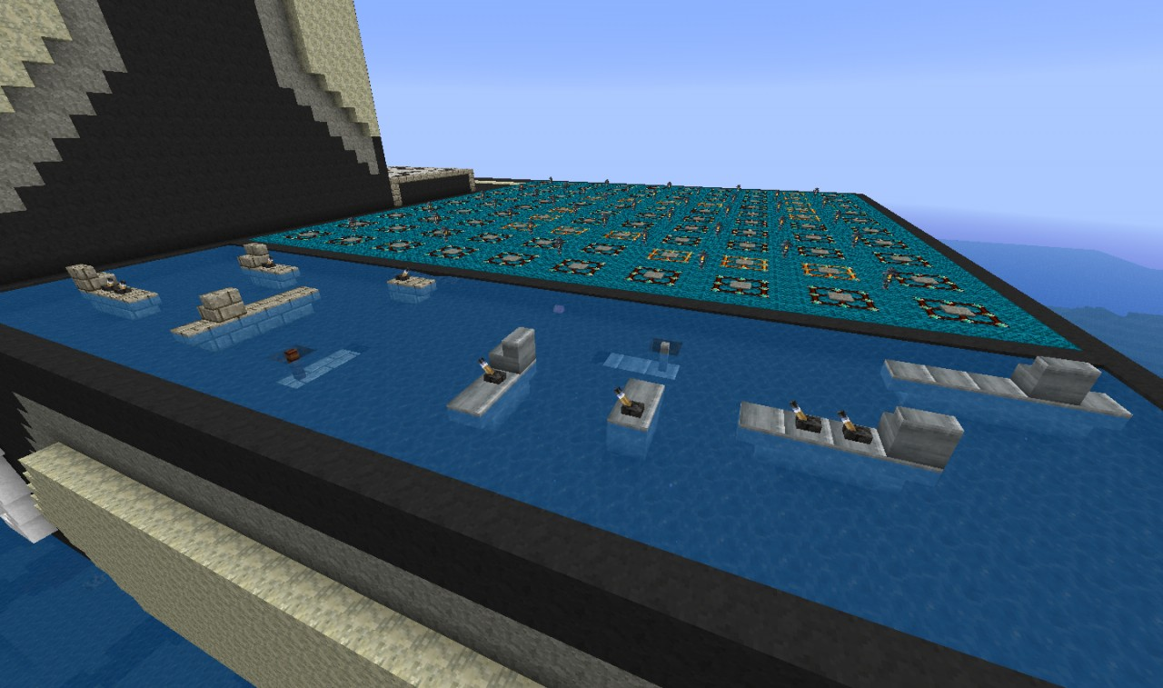 Battleship the game in minecraft minecraft project for The game mind craft