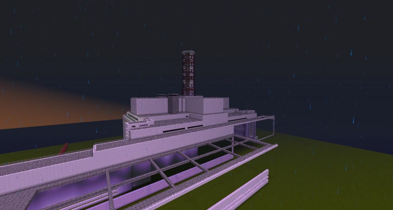 Rbmk Nuclear Power Plant Like Chornobyl Minecraft Project