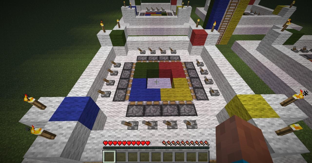 Piston Puzzle Minecraft Project