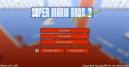 [16x/32x/128x/256x] [1.4.5.] Super Mario Bros 2 Minecraft
