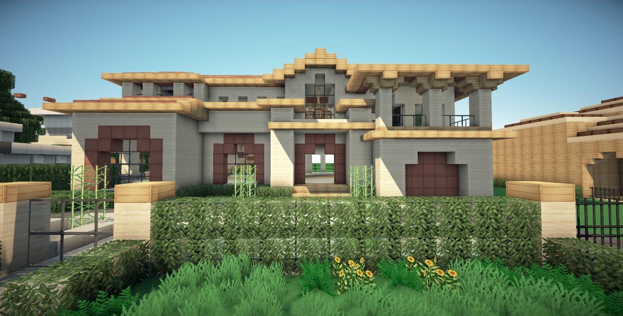 Modern Minecraft House Minecraft Ideas beverly mansion minecraft project