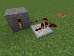 How to make a basic redstone clock. Minecraft