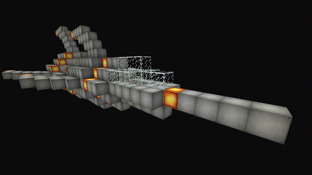 Small Space Ship Minecraft Project