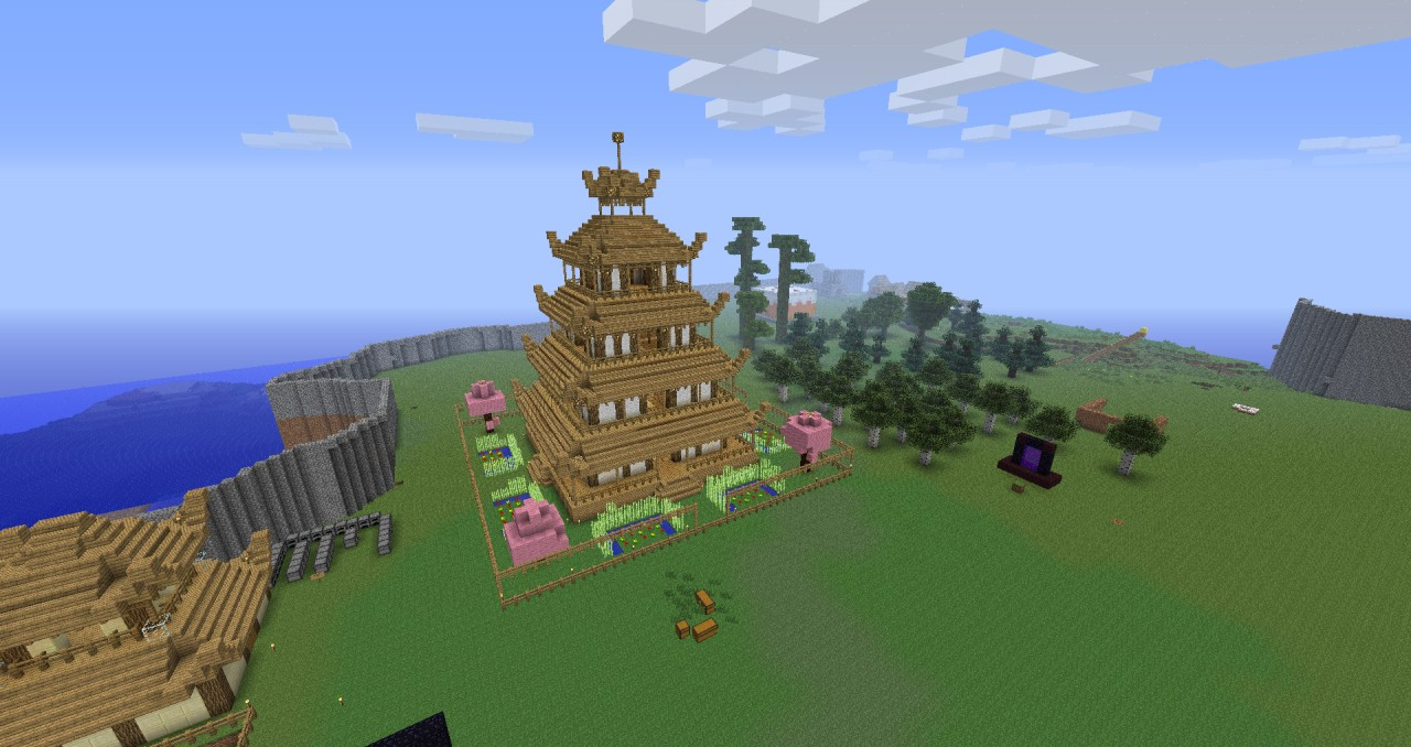 This is _Hikoboshi_'s home, which is located in a town of its own, far from any other civilization.
