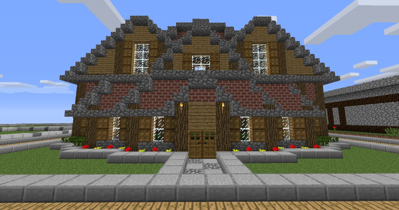 Small Wood Building Minecraft Map