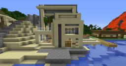 Beach modern house number 2 Minecraft Map & Project