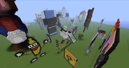 3D Art Minecraft Project