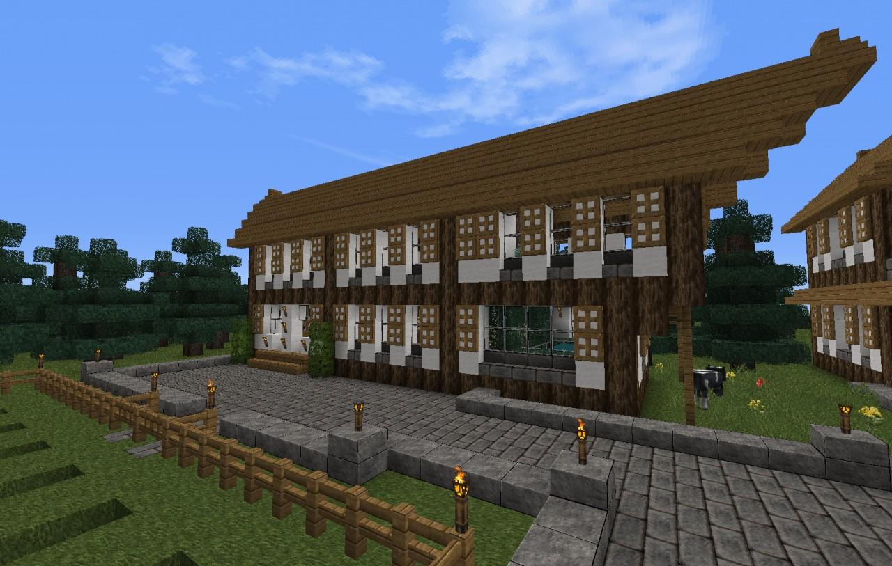 Swiss Village Minecraft Project