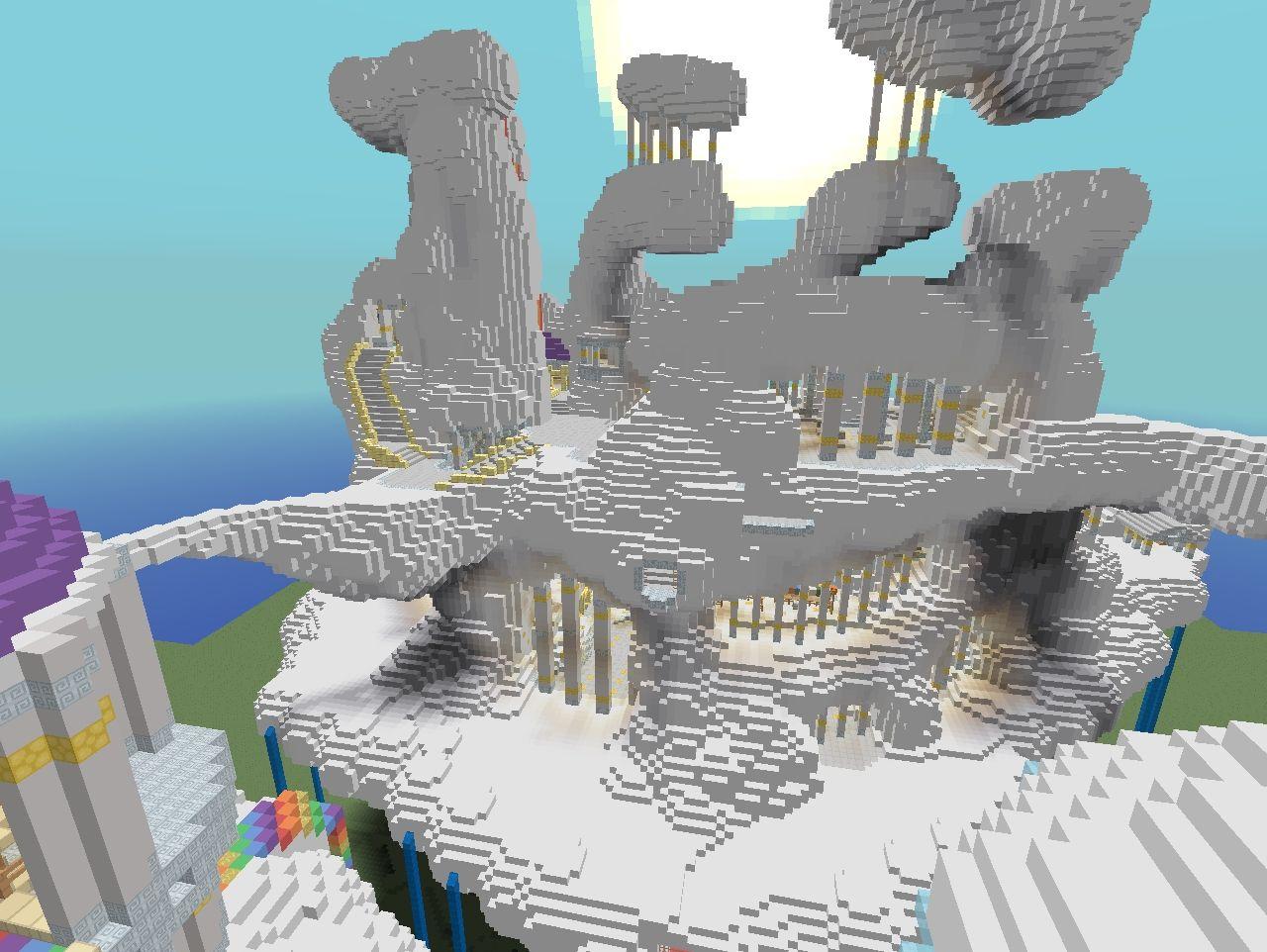 mlp cloudsdale minecraft project