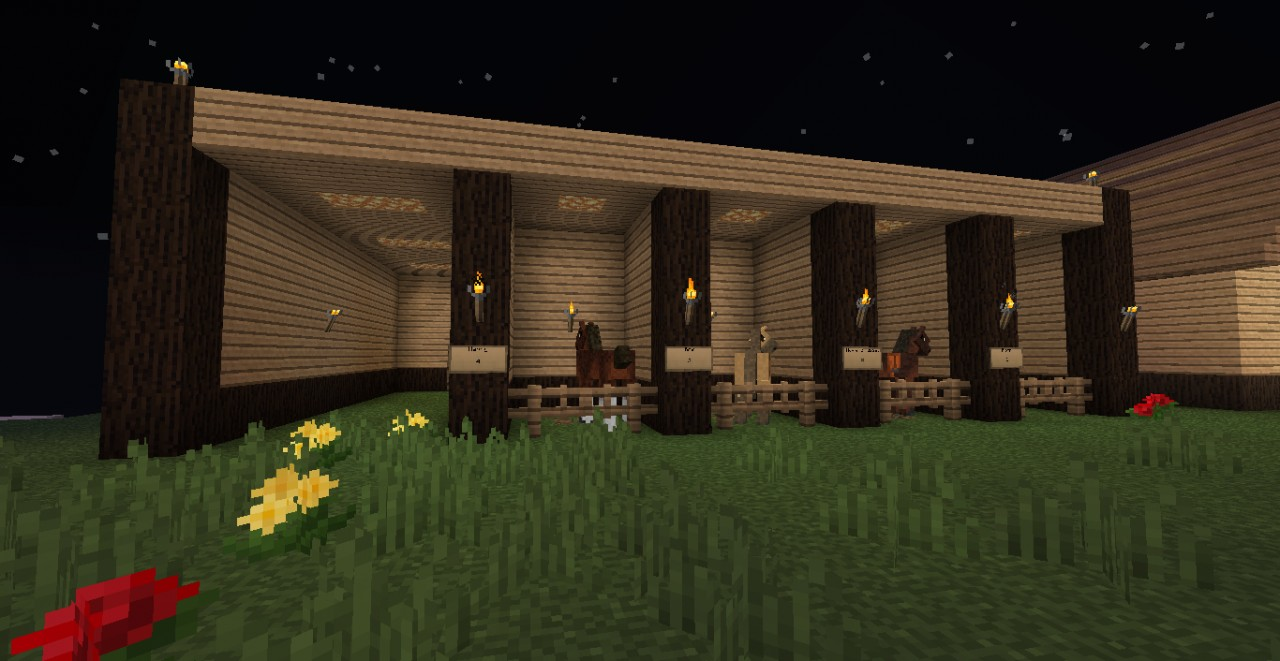 Minecraft Horse Farm Download