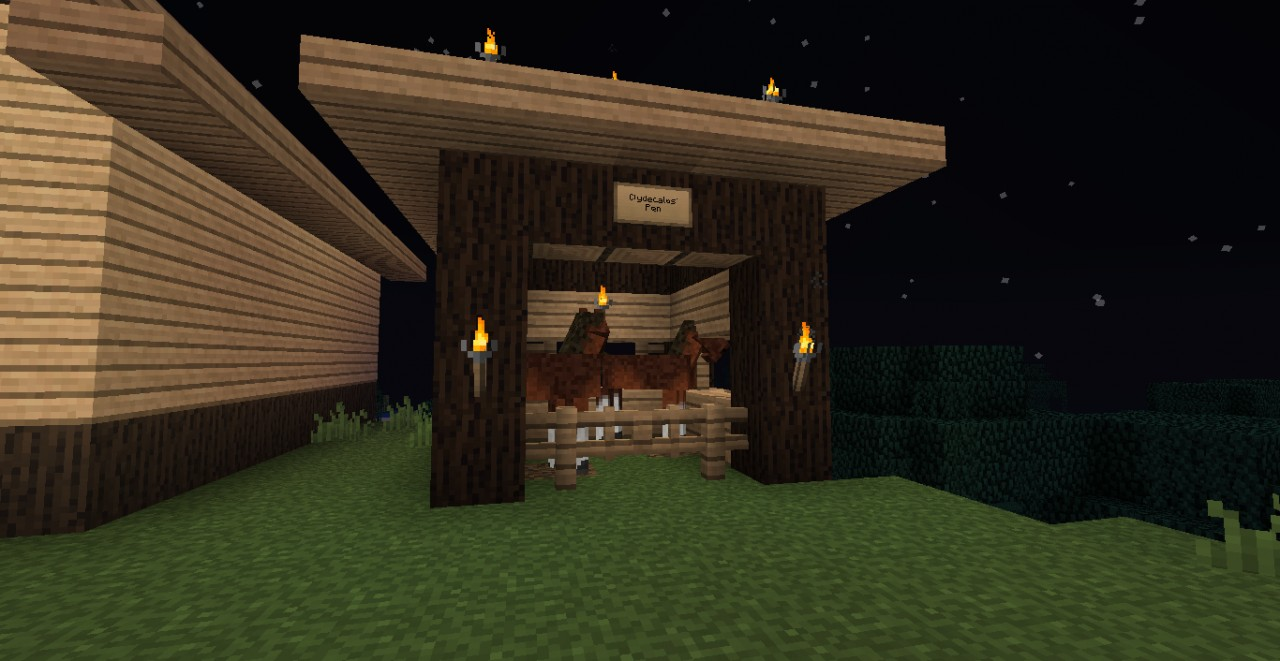 Simply Horses Stables Minecraft Project