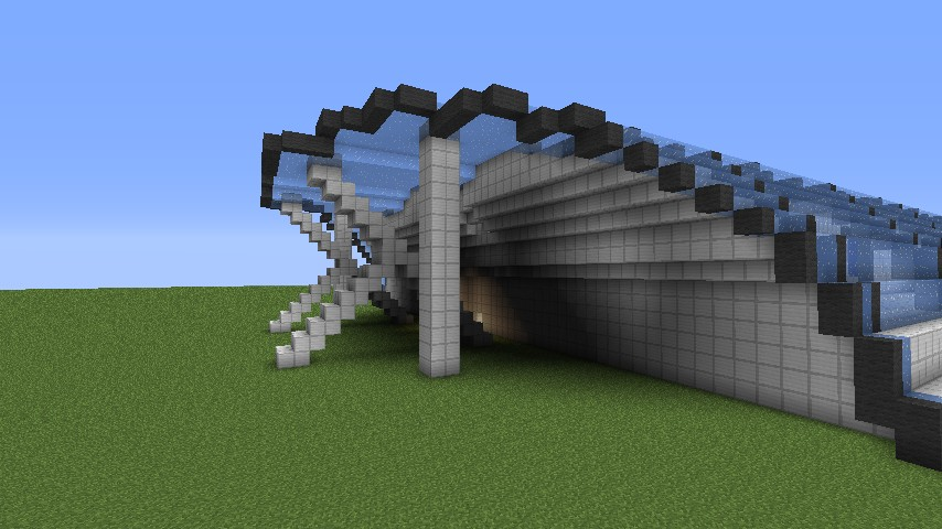 how to make a train station in minecraft