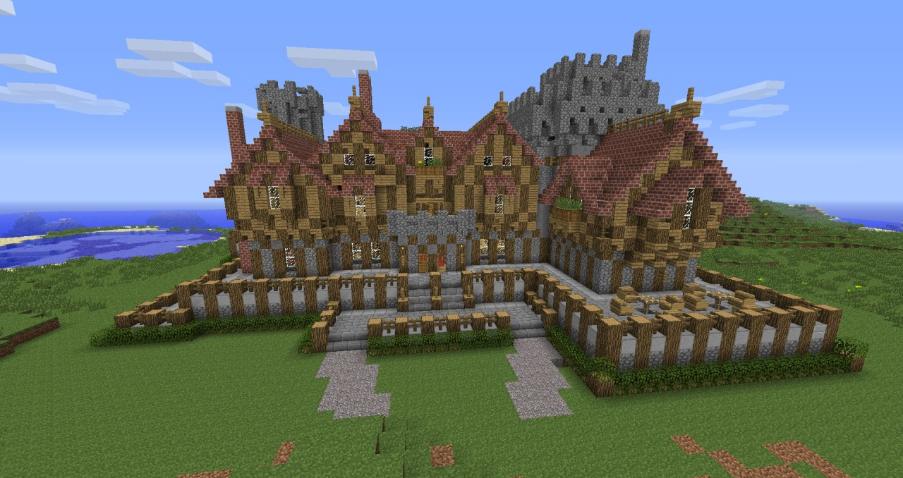 Medieval Manor Or Mansion Minecraft Project