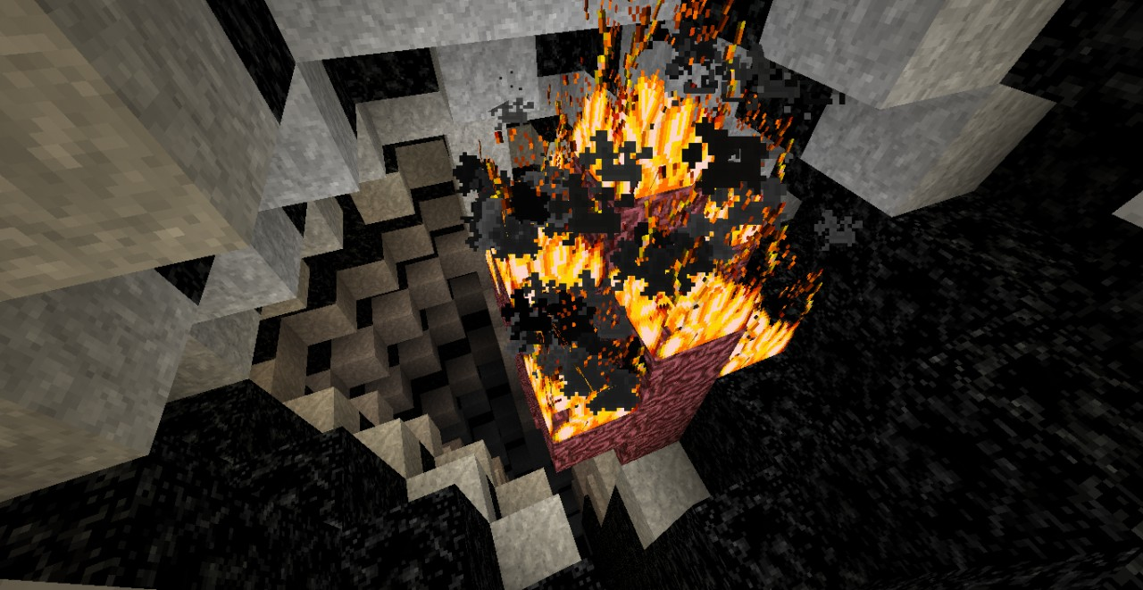 His nether heart burns constantly within his chest.