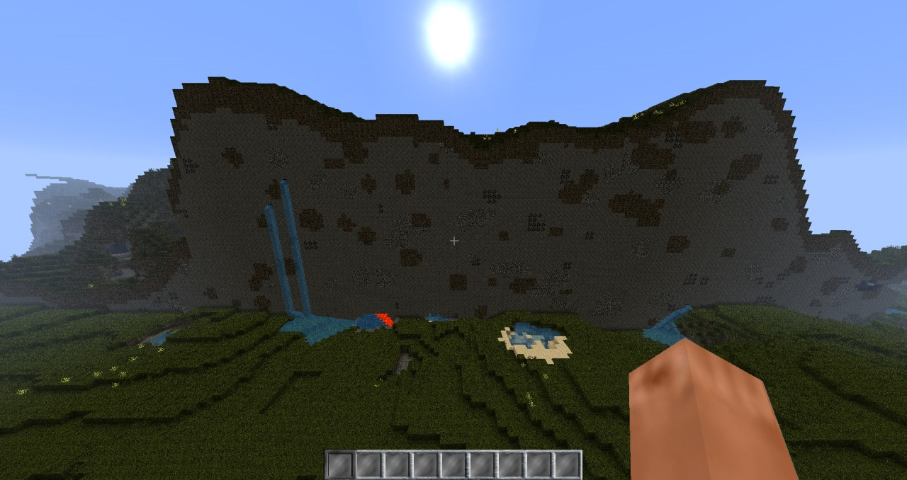 Crazy Mountain Seed Minecraft Project