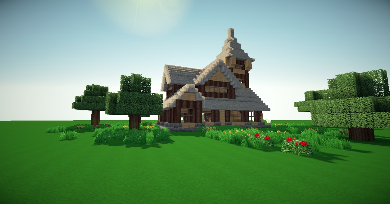 Medium Medieval House Minecraft Project