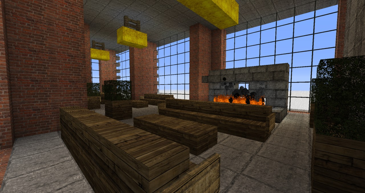 Modern Building New York Lofts 1 3 Minecraft Project