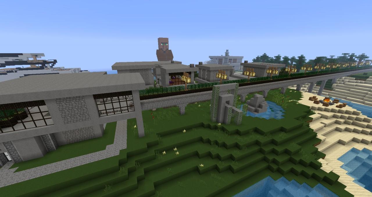 Gallery For > Minecraft Village Wheat Farm