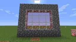 Semi-transparent glass UPDATE Minecraft Mod