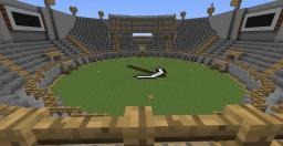 PvP Stadium Minecraft Map & Project