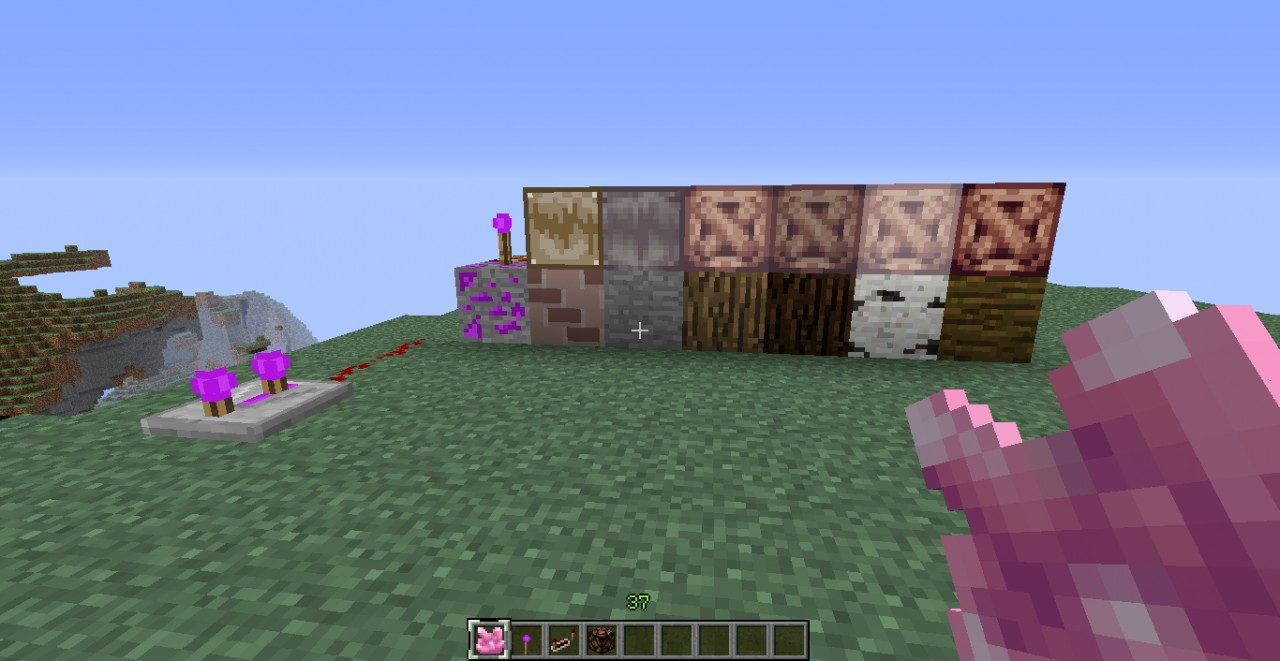 sory for the innconvienyents but the golden block above the brick inst what glowstone looks like anymore so please ignore it