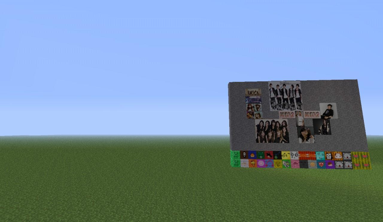 minecraft kpop resource pack
