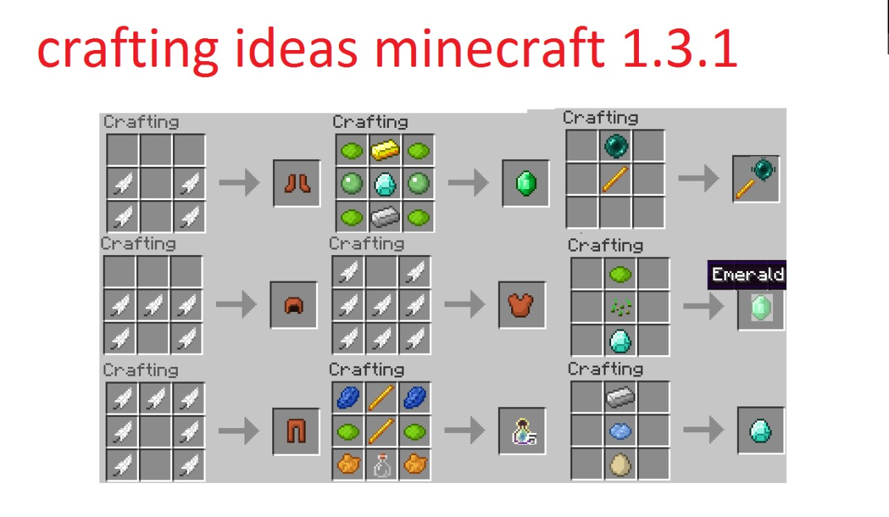 How to craft in Minecraft 76