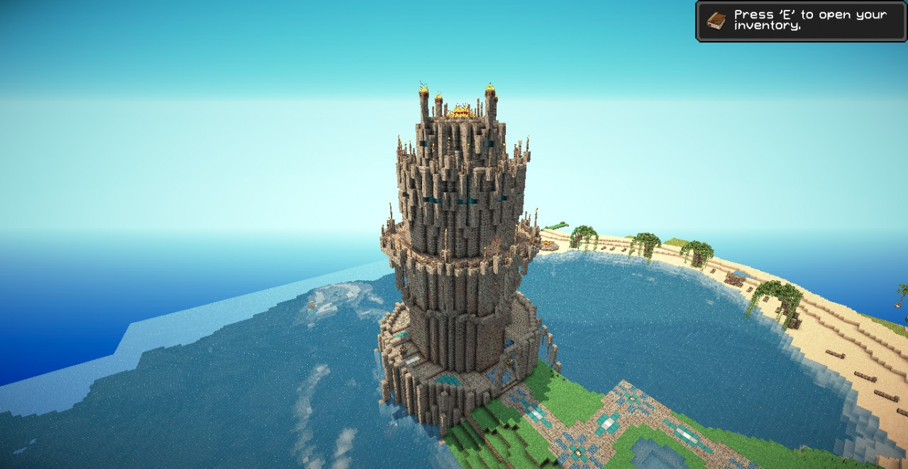 how to build a lighthouse in minecraft tmsm