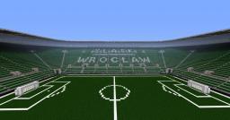 Football Stadium WKS Śląsk Wrocław (UEFA EURO 2012) Minecraft Map & Project