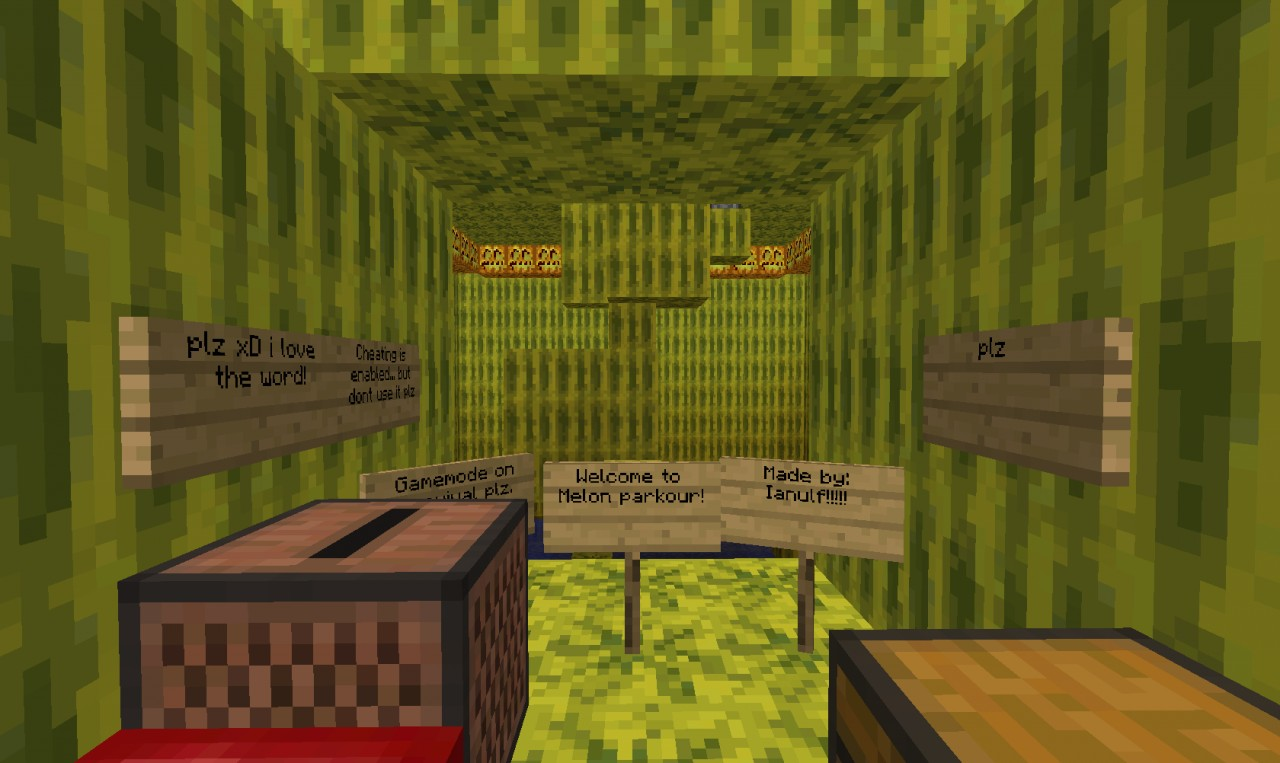 Melon Parkour Minecraft Project