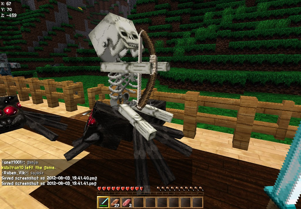 how to become a spider in minecraft