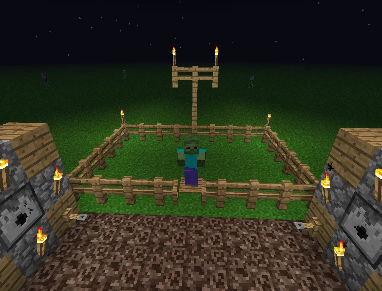 how to set traps in minecraft