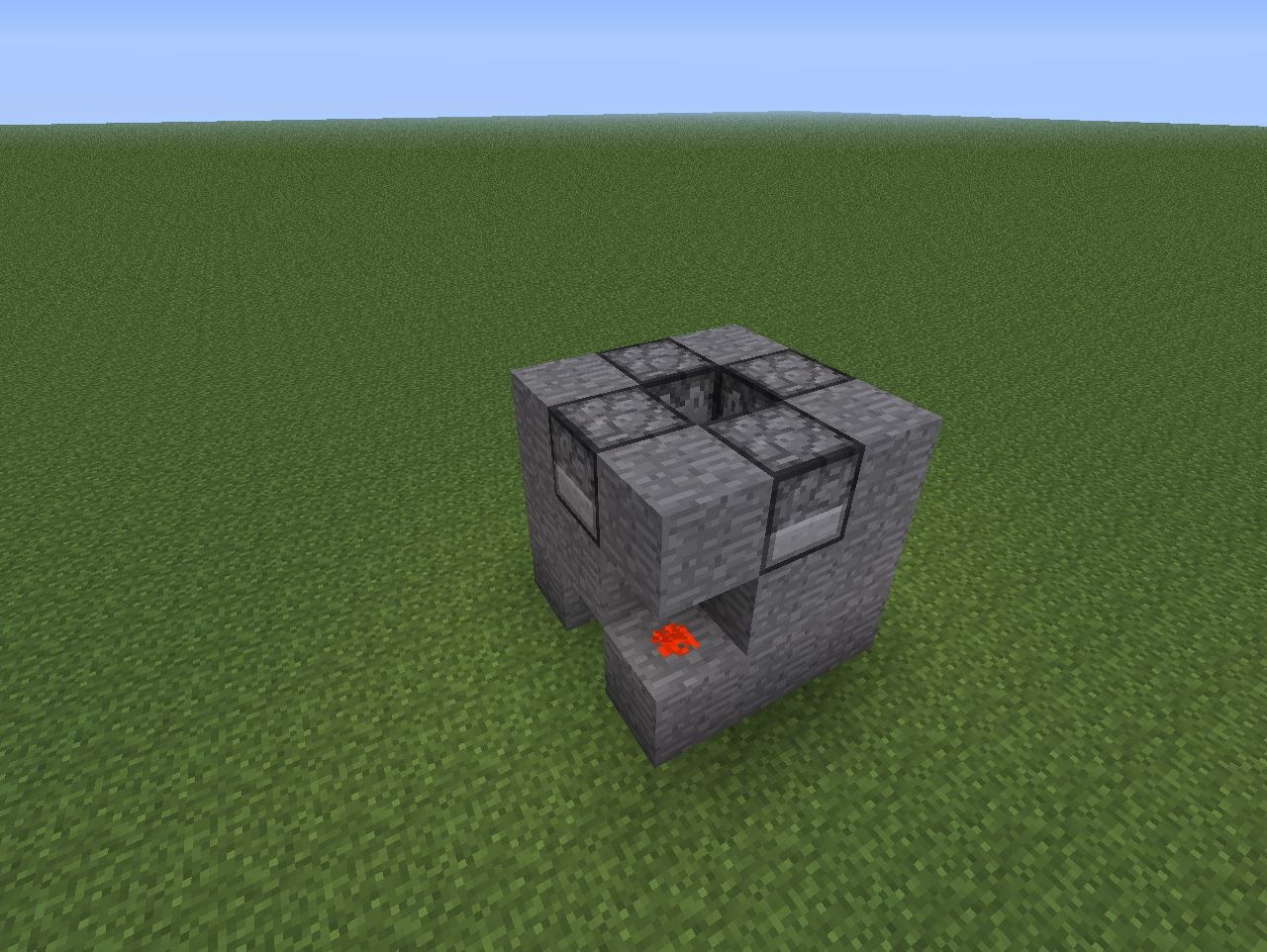 how to build a spawner in minecraft