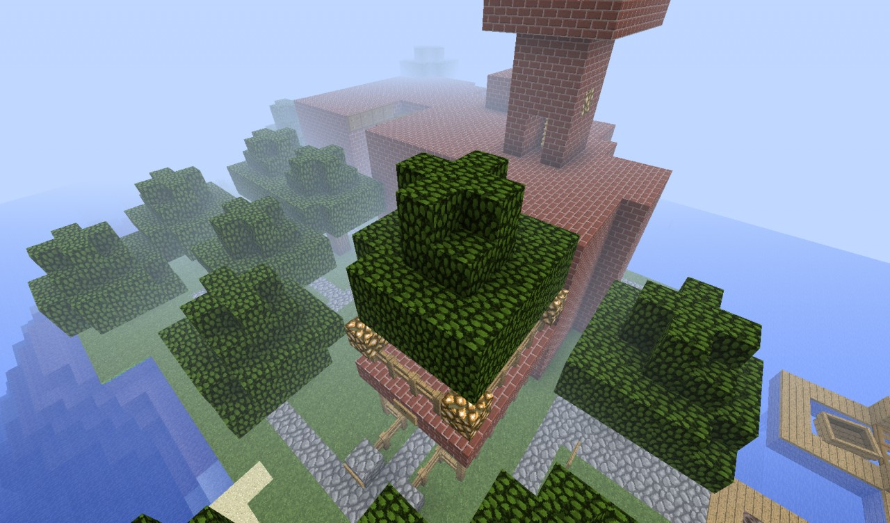 Enormous house i built. I was just bored