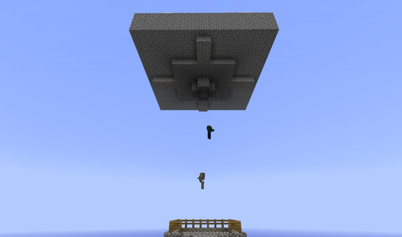 Skyblock Mob Trap Tons Of Items Per Minute Minecraft Project