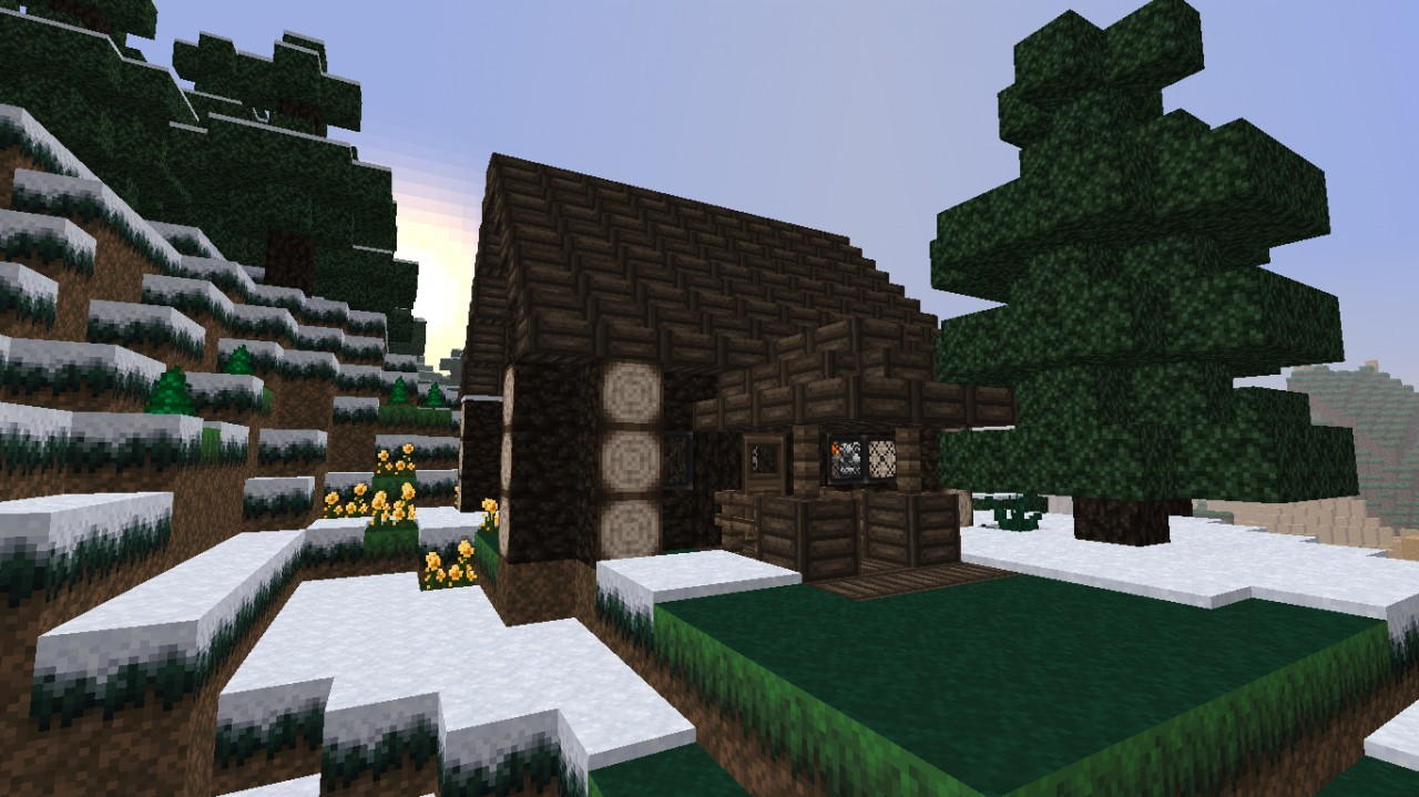 Pin log cabin minecraft project on pinterest