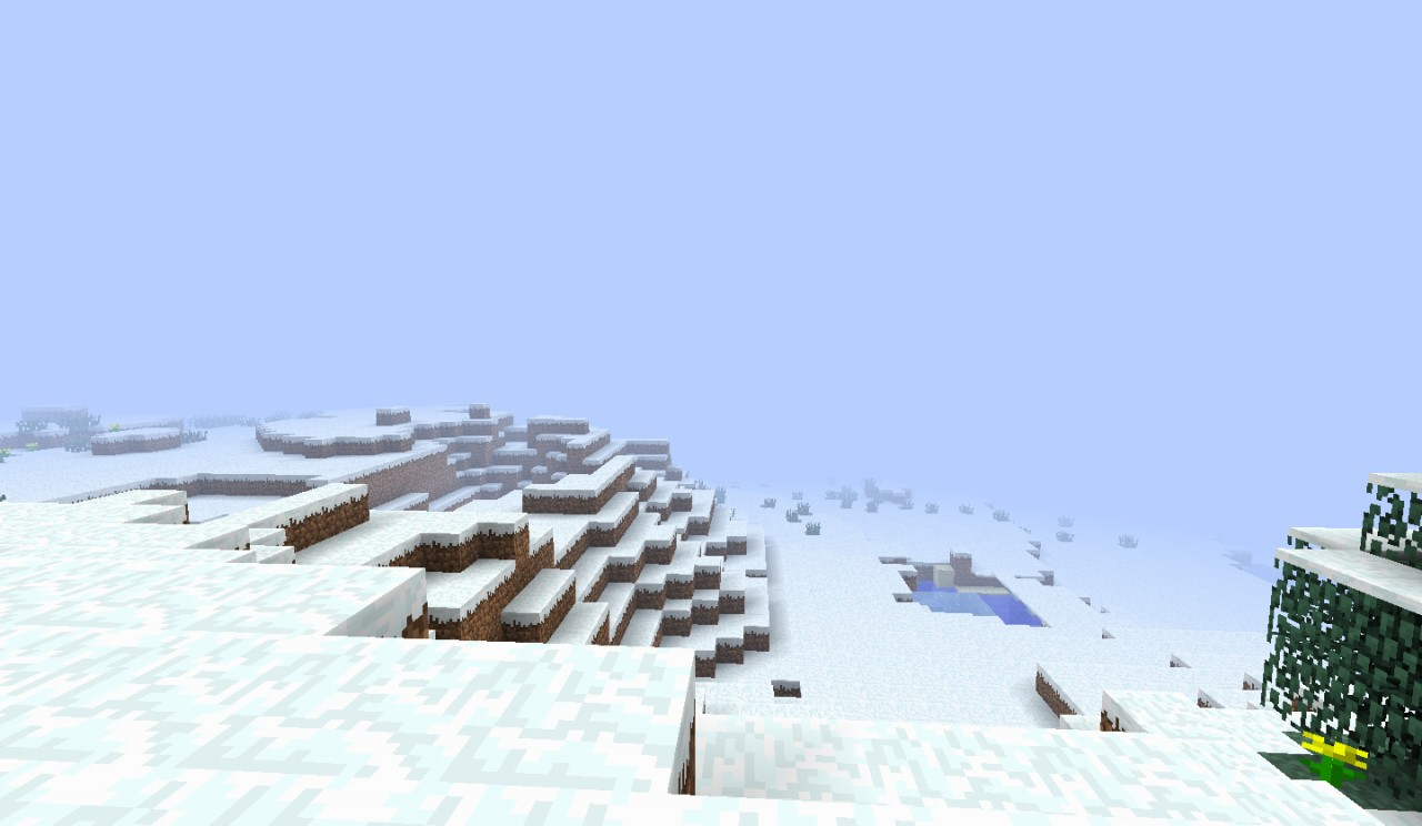 large biome (World type) Minecraft Project
