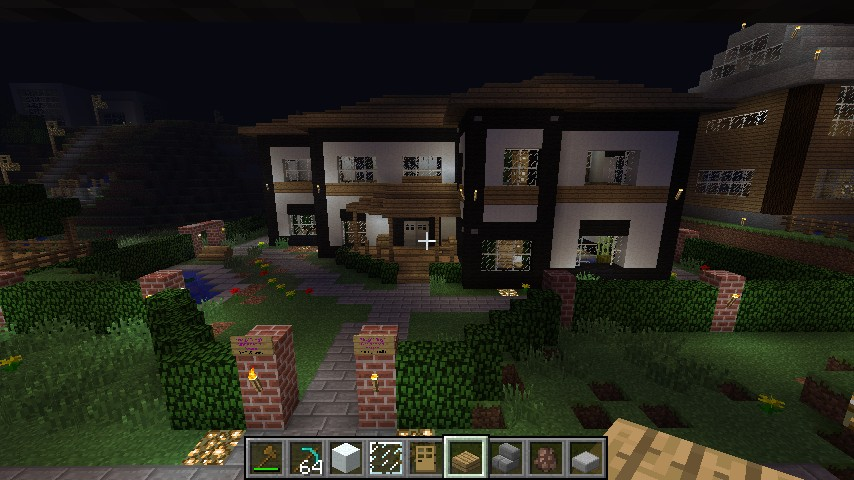 Minecraft Modern House Builds