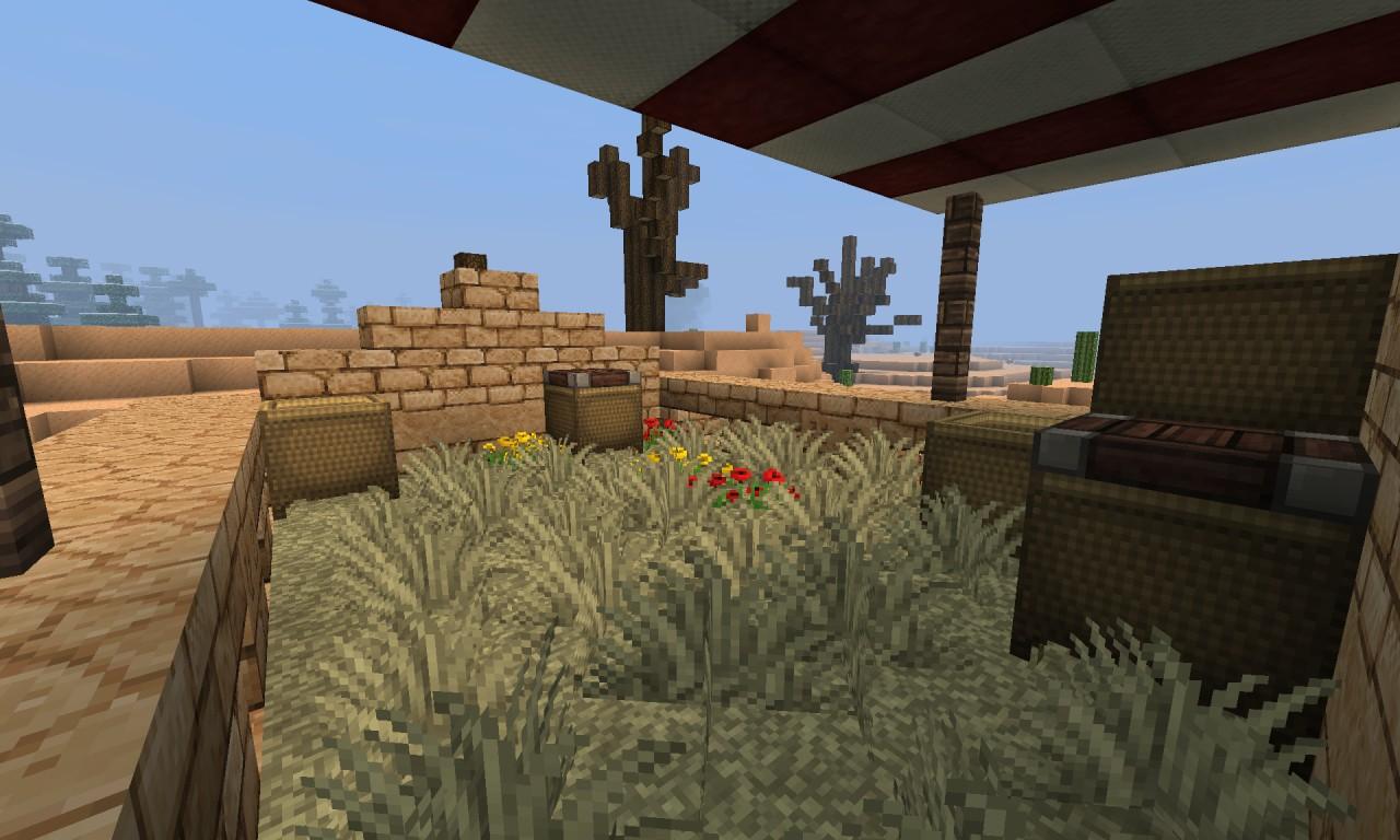 Desert House Minecraft Project