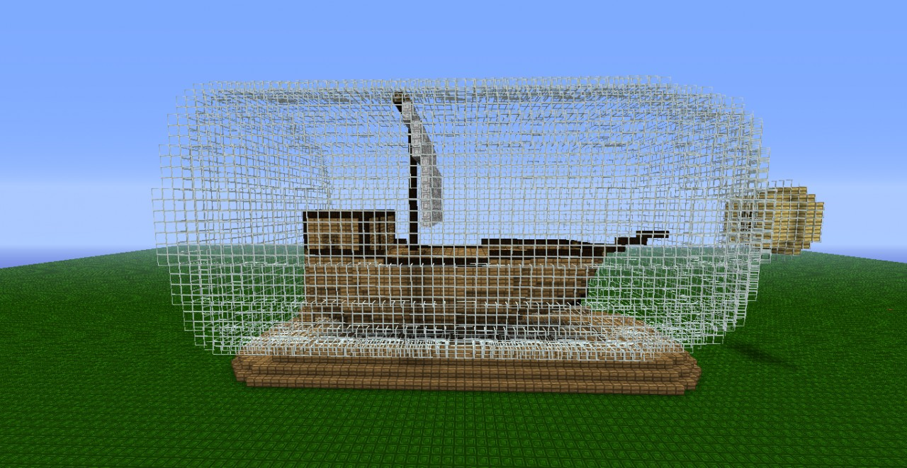 how to build a ship in minecraft that moves