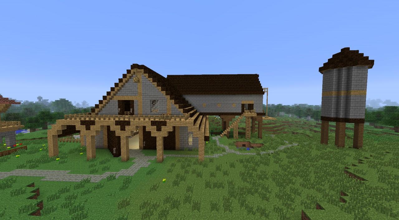 Farm Houses Minecraft The Image Kid Has It