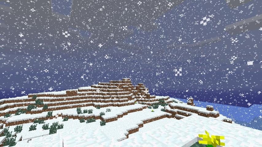 2]Amazing large flat land, snow biome Minecraft seed 1.6.4 - YouTube