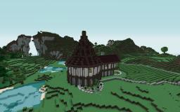 Vineyard / Cottage Inspired By Cheydinhal Style Architecture (Oblivion) Minecraft Map & Project
