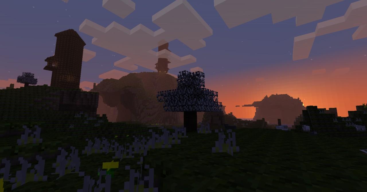 dark texture packv 1.3 Minecraft Texture Pack