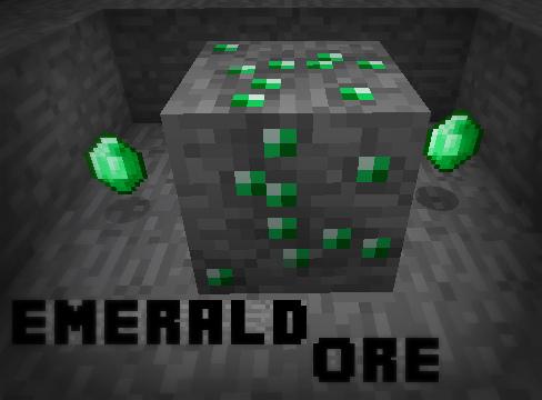 Emerald Ore Minecraft Project