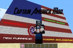 Captain America Mod (The Minecraft Initiative #2) Minecraft Mod